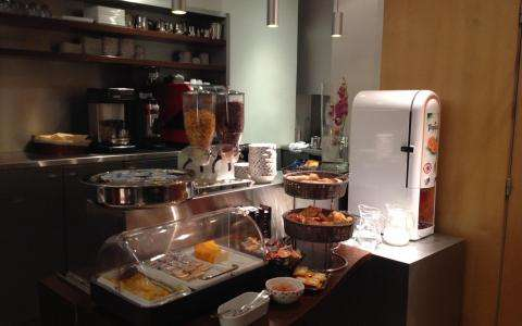 New looking of our buffet breakfast ...