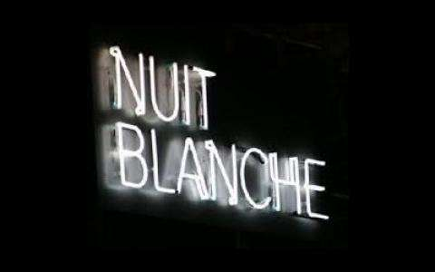 Nuit Blanche In Paris