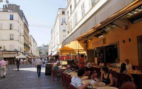 Brocante - Rue Cler