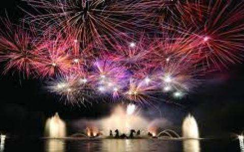 THE FOUNTAINS NIGHT SHOW