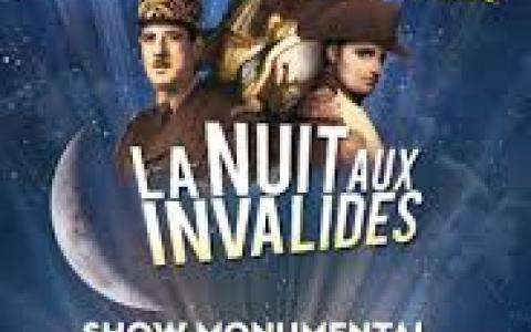 La Nuit aux Invalides 2016 : Un spectacle en 3D à Paris
