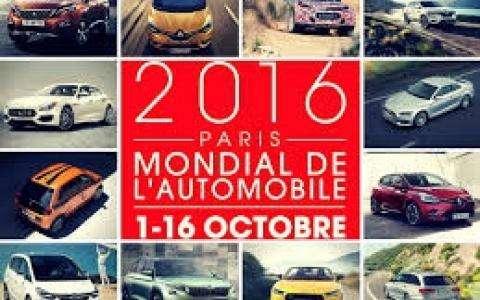 Mondial de l'automobile      Paris  édition 2016