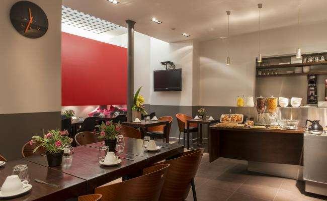 Grand Hotel Leveque  - Salle Petit déjeuner