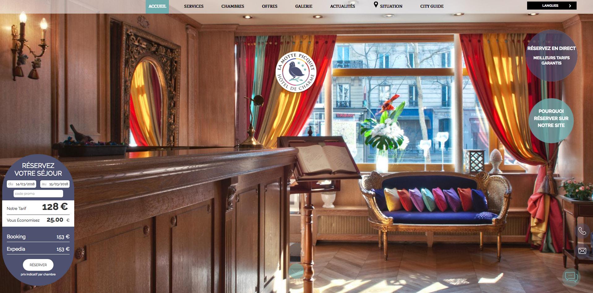 Letto A Castello Traduzione Inglese.Hotel De La Motte Picquet Paris Servizi Albergo Centro Di Parigi
