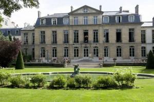L'Hotel de Castries vu depuis le jardin