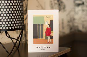 Bienvenue dans notre maison parisienne!