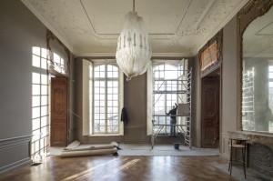 Chantier musee Rodin, Paris.