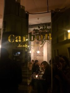 Carbón - Restaurant on fire