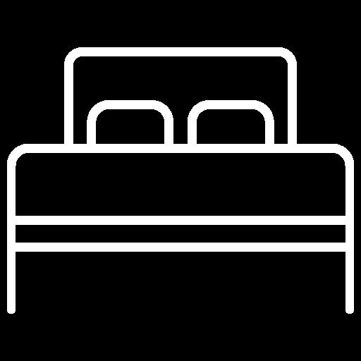 1 double bed (140 x 190 cm)