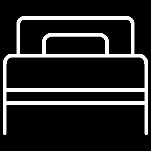 2 camas simples (90x190cm)