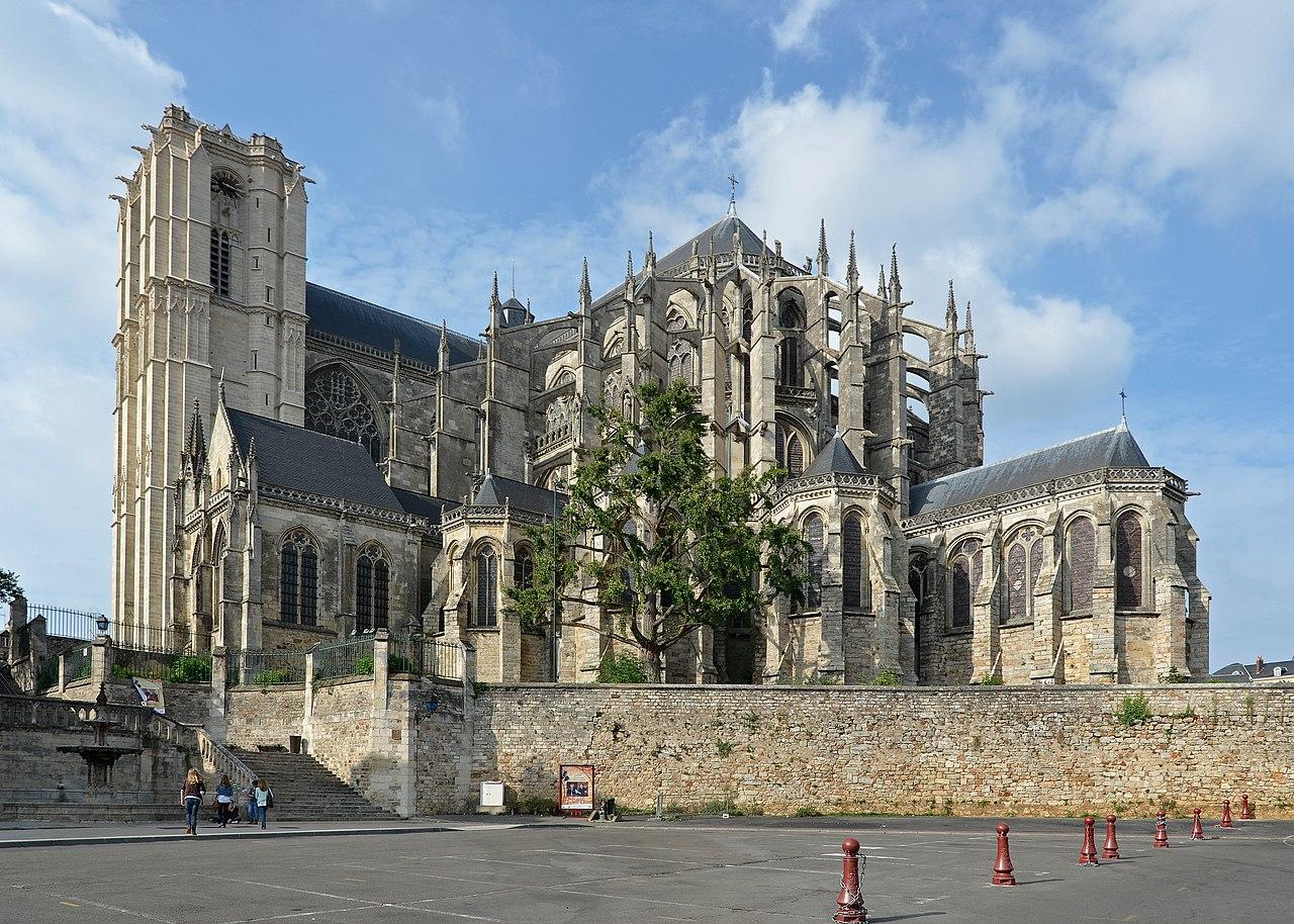 Cathédrale St Julien de Mans