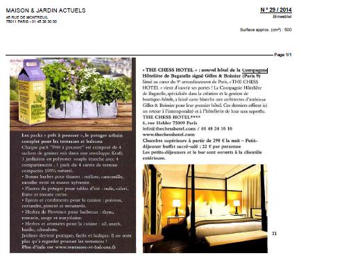 The Chess Hotel - Luxus Hotel Paris Design